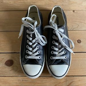 Leather Converse - IMPERFECT